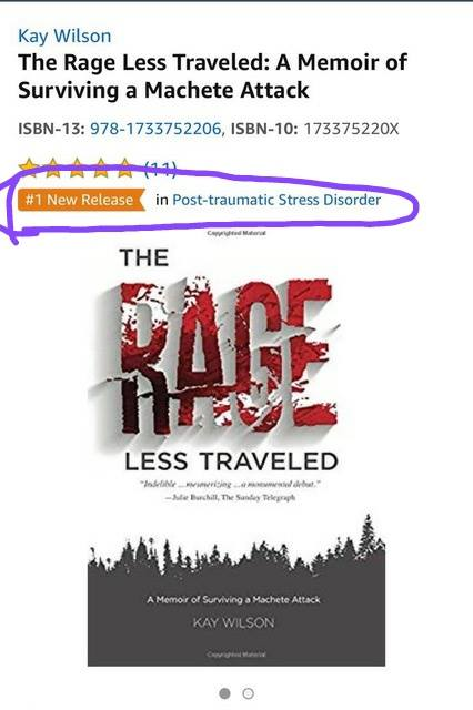 Number 1 New Release on Amazon in PTSD!