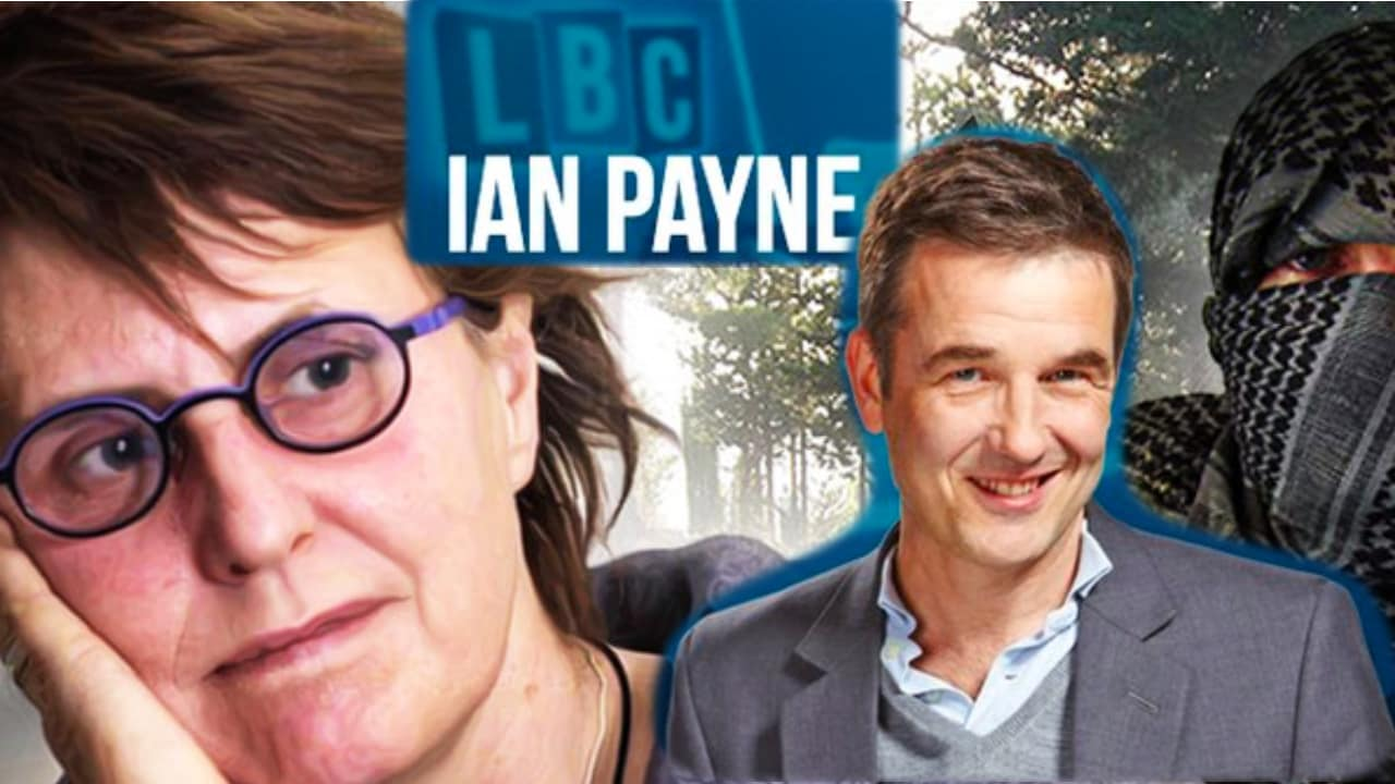 I got to talk about PTSD and The Rage Less Traveled on LBC Radio